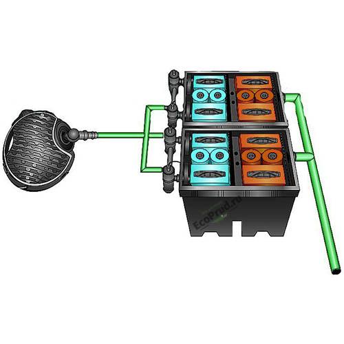 Фильтр для пруда Bio-System 2 с насосом