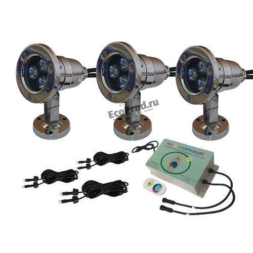 Светильник для пруда 992Led3 FULL RGB